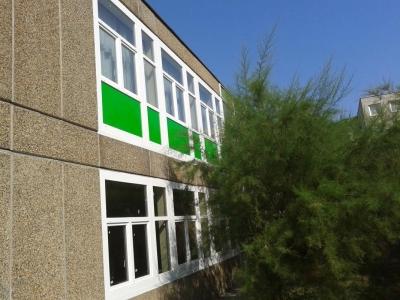 Újpesti Szigeti József utcai Általános Iskola nyílászáró csere